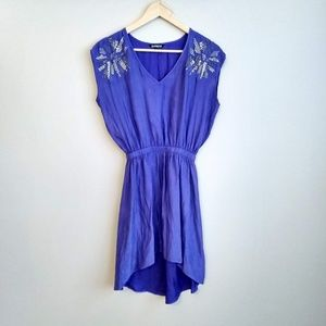 Express High-Low Dress with Sparkle Embellishments